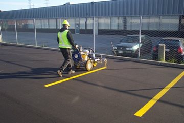 The Benefits of Parking Lot Line Painting
